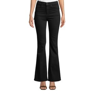 Rag & Bone Bella High-Rise Split-Cuff Flared Jeans